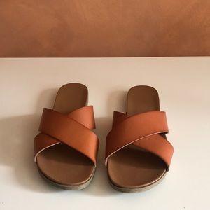 Nordstrom Shoes - ABOUND | Skylar cross band flat sandal